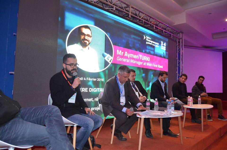 Web First Rank sponsorise 3 événements dans le Digital et le numérique durant les 3 derniers mois