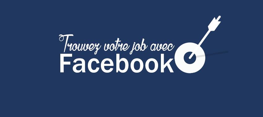 Nouveauté de Facebook Offre d'emploi