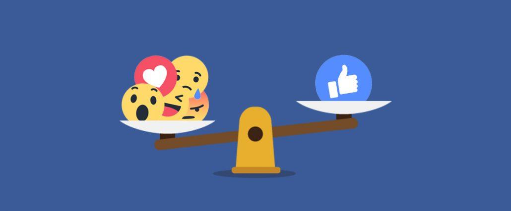 Facebook Les réactions auront prochainement
