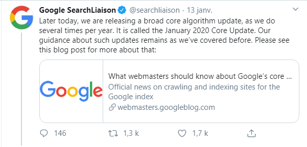 SEO January Core Update